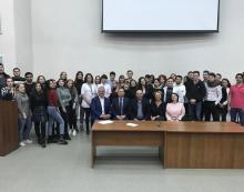 Встреча со студентами-выпускниками Медицинского института